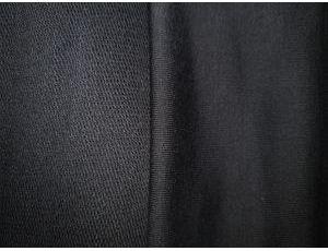 Двунить пенье хлопок основа colour black