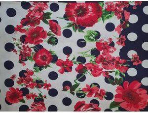Хлопок Реактив colour цветы kirmizi