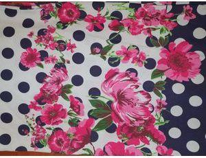Хлопок Реактив colour цветы fugya