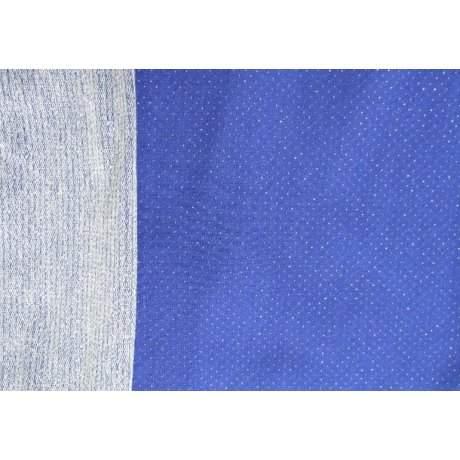 Двунить Люрекс синяя