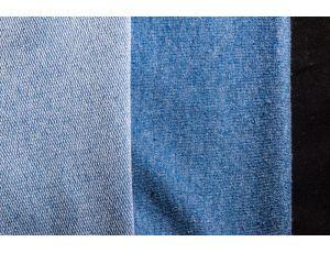 Двунить синяя меланжированная