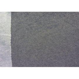 Двунить джинс серый