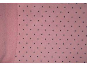 Трёхнить без начёса звезда розовая