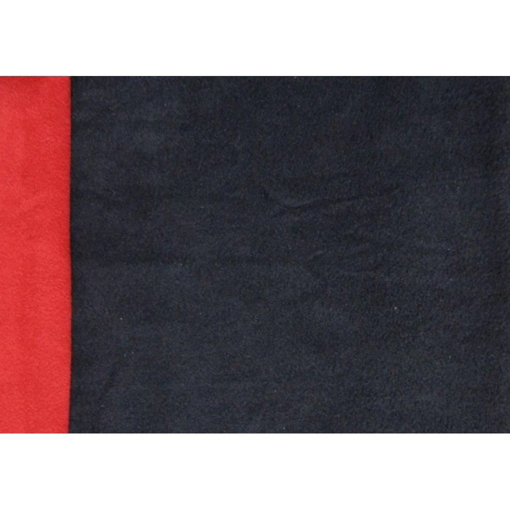 Флис двусторонний тёмно-синий