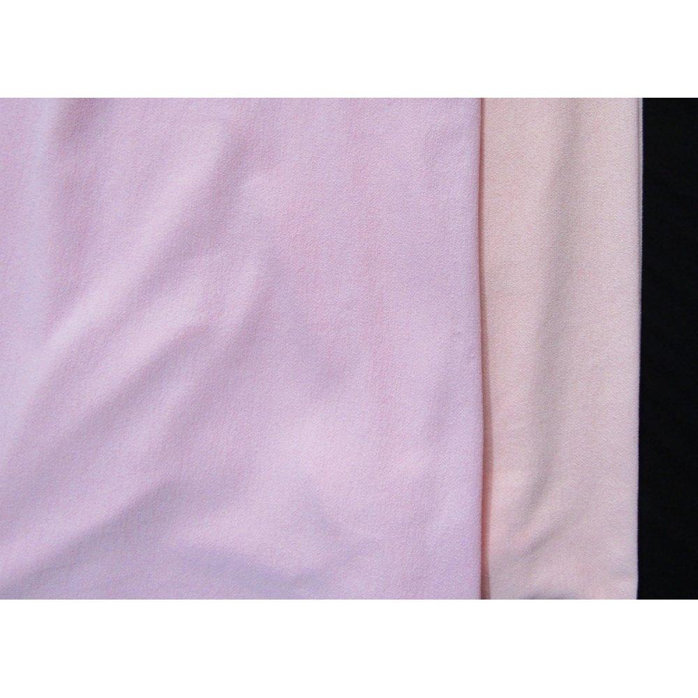 Креп софт розовый и светло-розовый