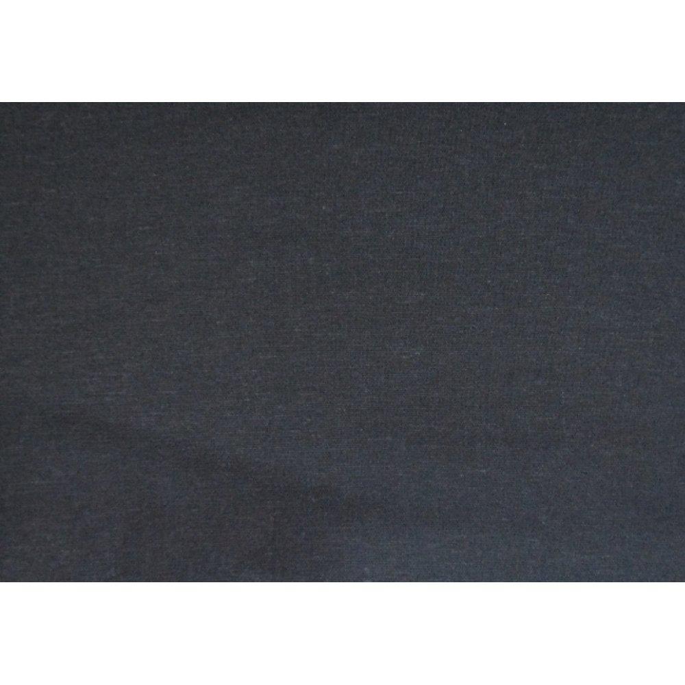 Лён стрейч тёмно-синий