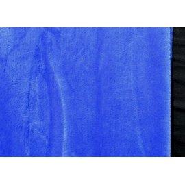 Махра плюш синяя