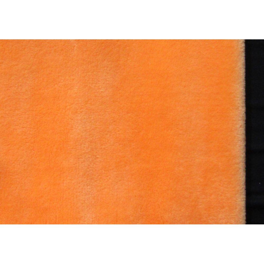 Махра плюш оранжеваяя