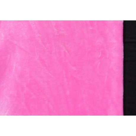 Махра плюш розовая