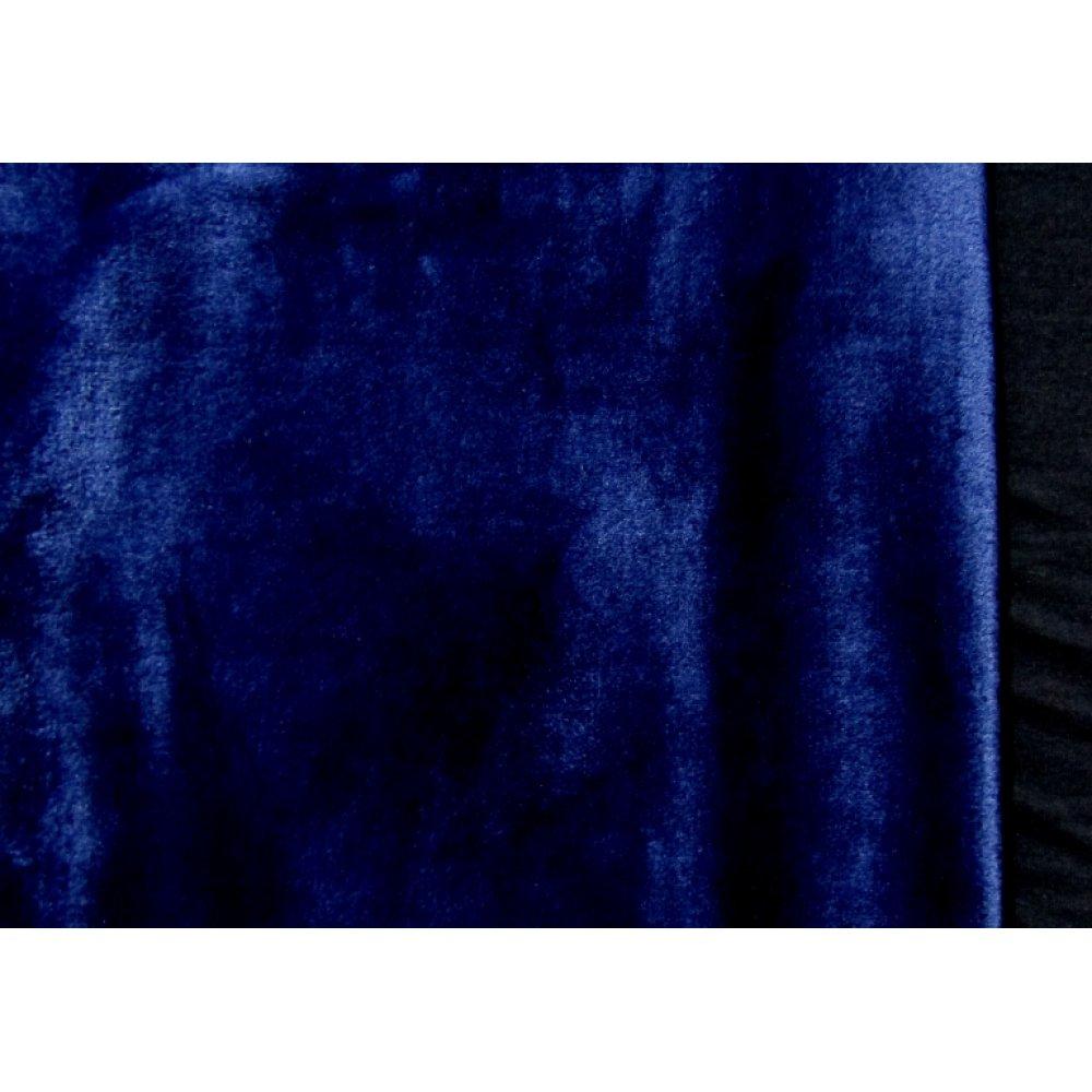 Махра плюш тёмно-синяя