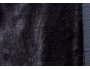Махра плюш чёрная