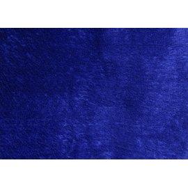 Махра полированная тёмно-синяя