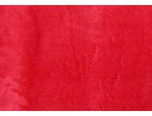 Махра полированная красная