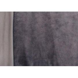 Микровелюр тёмно-серый