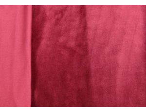 Микровелюр бордовый