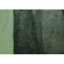 Микровелюр тёмно-зелёный (бутылка)