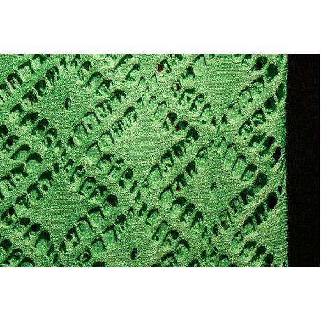 Сетка стрейч неон зелёный