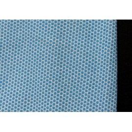 Трикотаж петек синий