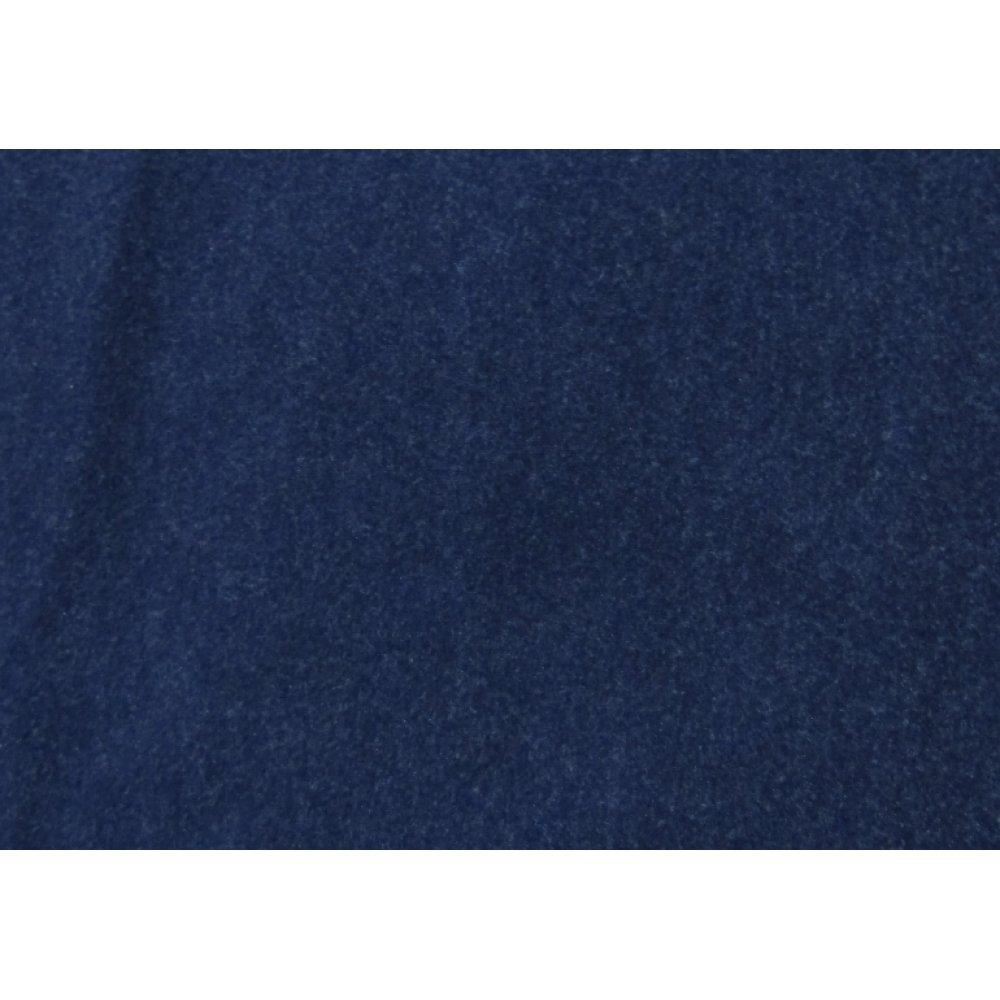 Вискоза шерсть тёмно-синяя