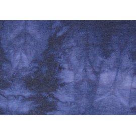 Вискоза шерсть варенка тёмно-синяя