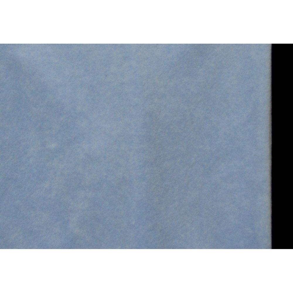 Велюр голубой