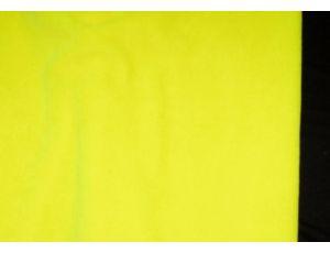 Велюр неон жёлтый