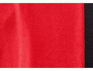 Велюр красный
