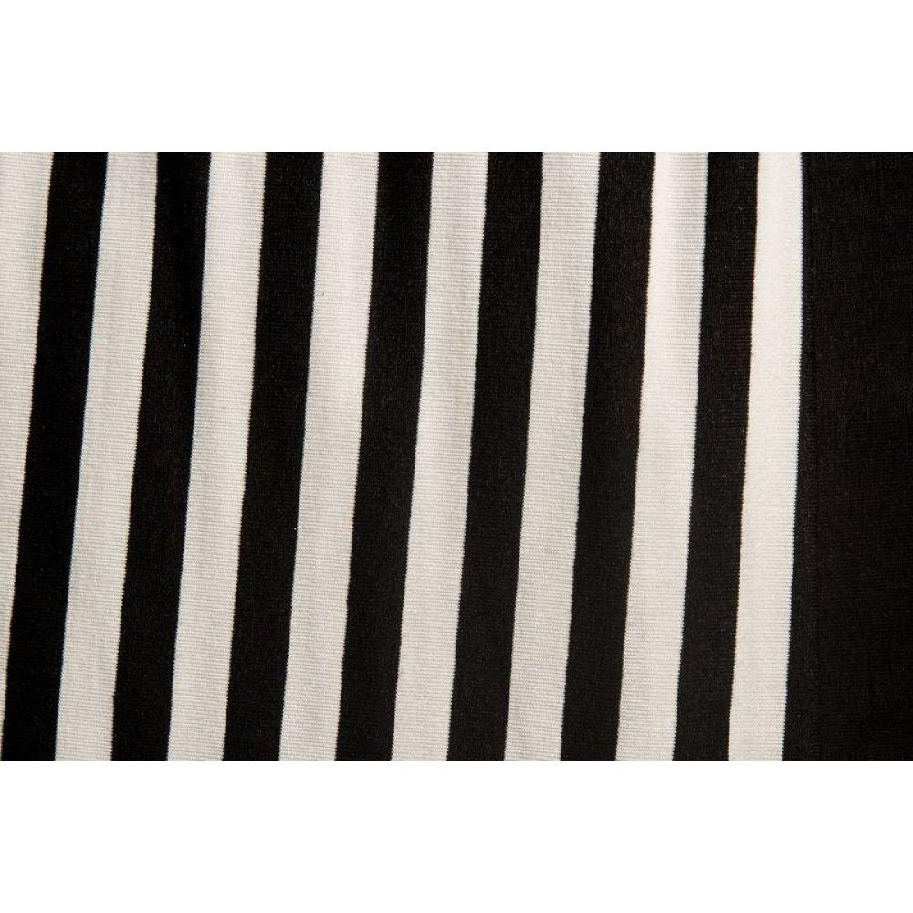 Вискоза полоса чёрная 1см