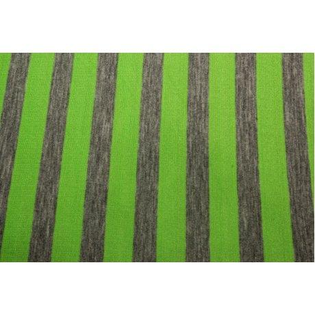Вискоза полоса неон зелёная 1см
