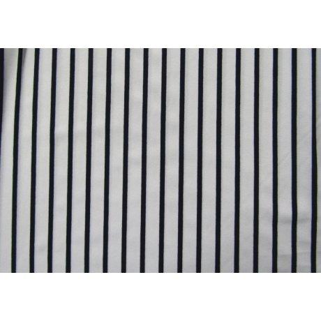 Вискоза полоса тёмно-синяя 0.5см/белая 2см