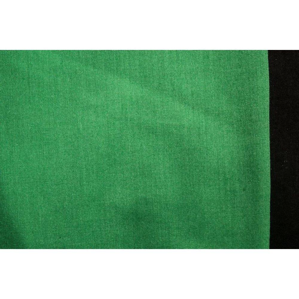 Хлопок-вуаль зелёный