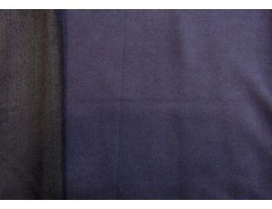 Замша на петле тёмно-синяя